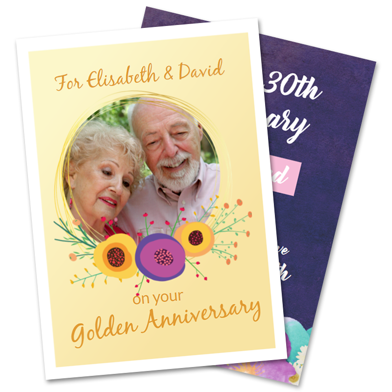 Parents Anniversary Cards