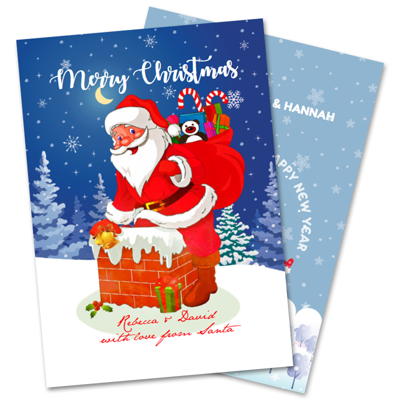 Christmas Cards From Santa