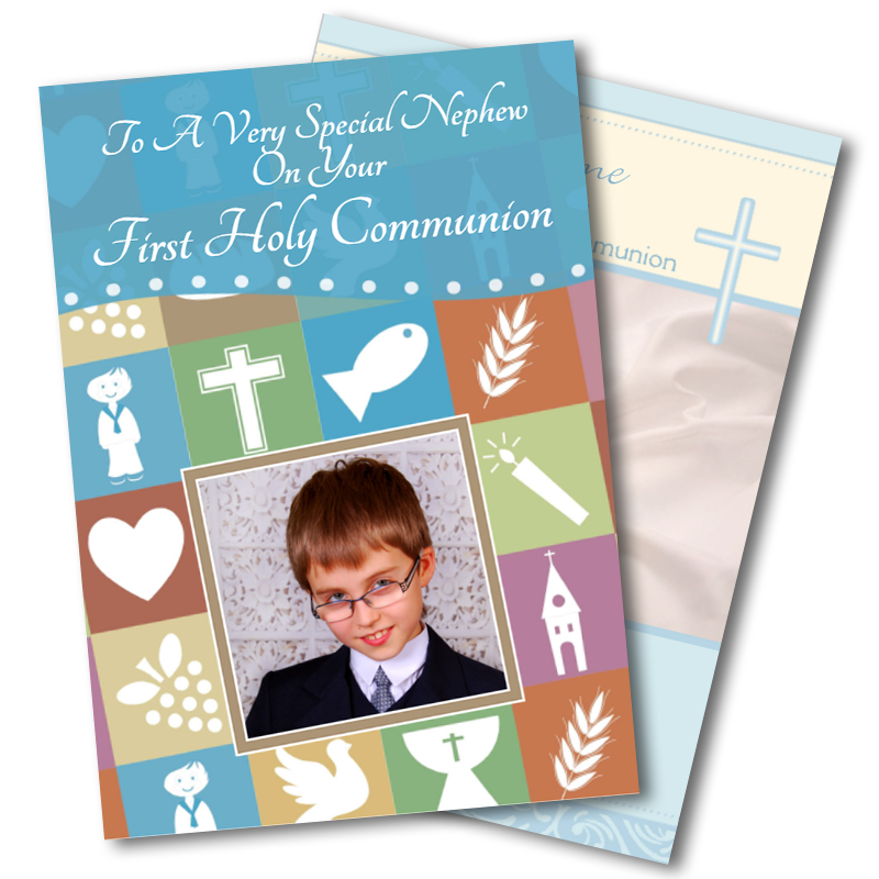 Boys Communion Cards