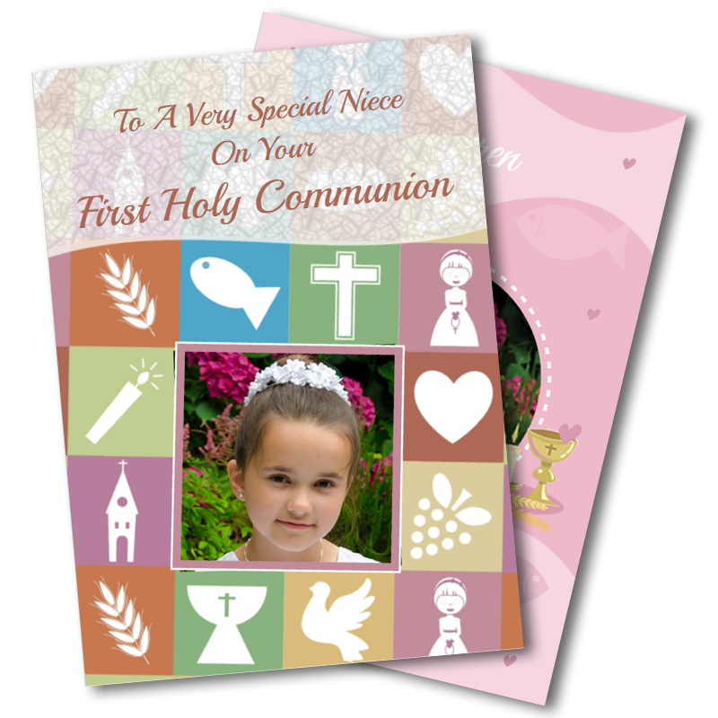 Girls Communion Cards