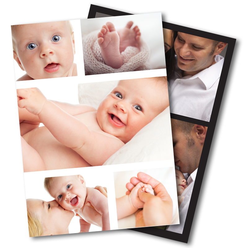 photo upload - New Born Baby Card