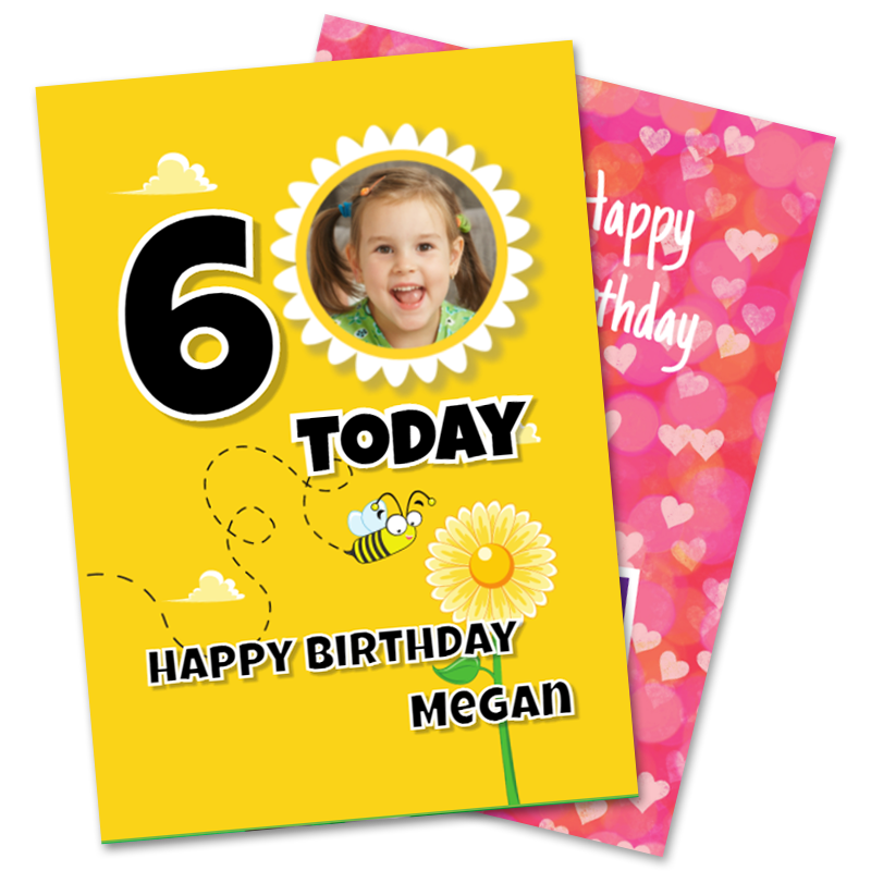 Girls Birthday Cards